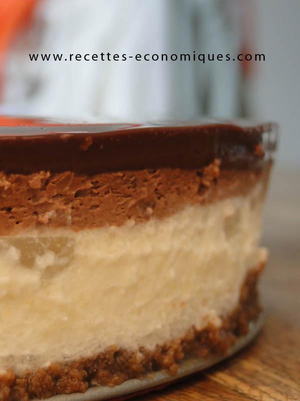 Bavarois poires chocolat au thermomix une r ussite partager - Gateau au chocolat thermomix tm5 ...