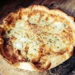 quiche façon pizza marguerite © par Fanny GRW - Recettes d'ici et d'ailleurs