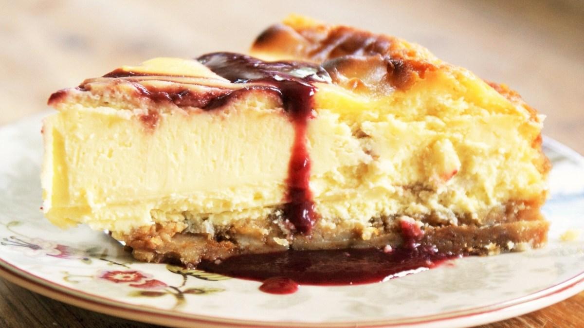 Cheesecake façon Starbucks au chocolat blanc et framboises