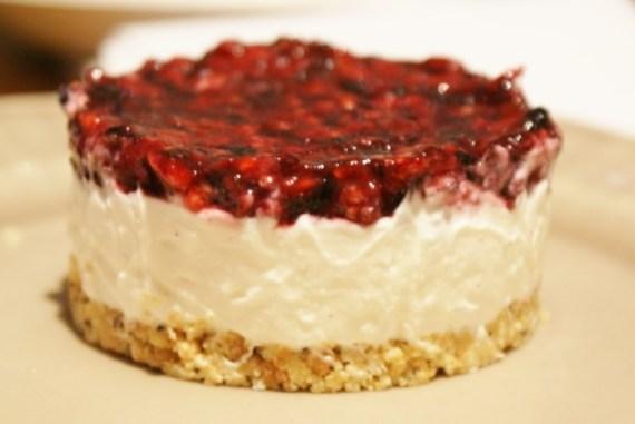cheesecake illico-presto au fruits rouges - Cuisine maison © par Fanny GRW - Recettes d'ici et d'ailleurs
