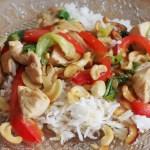 poulet aux noix de cajou - cuisine thaï © par Fanny GRW - Recettes d'ici et d'ailleurs