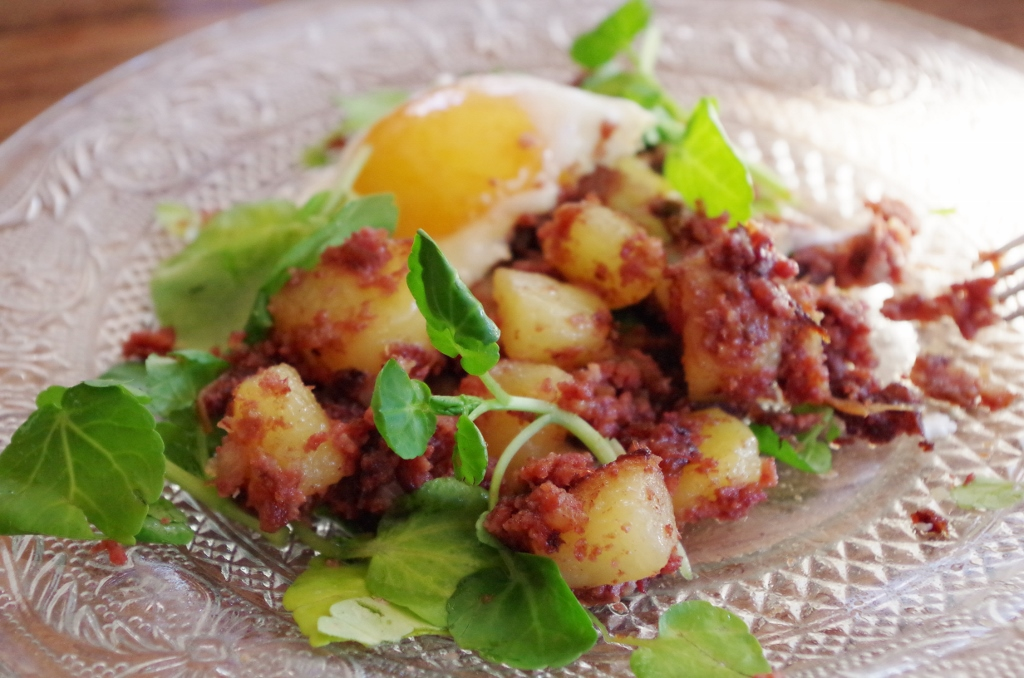 Balico co corned beef hash - Recette traditionnelle cuisine americaine ...