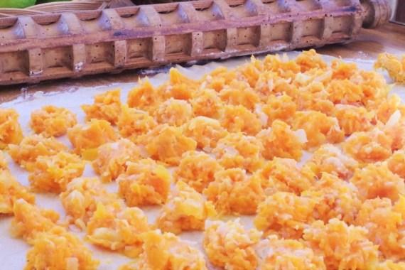 Raviolis à la courge sauce aux noix  © Balico & co
