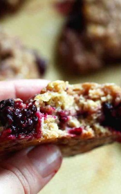 Blackberry Spice Scones