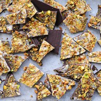 Pistachio Chocolate Bark