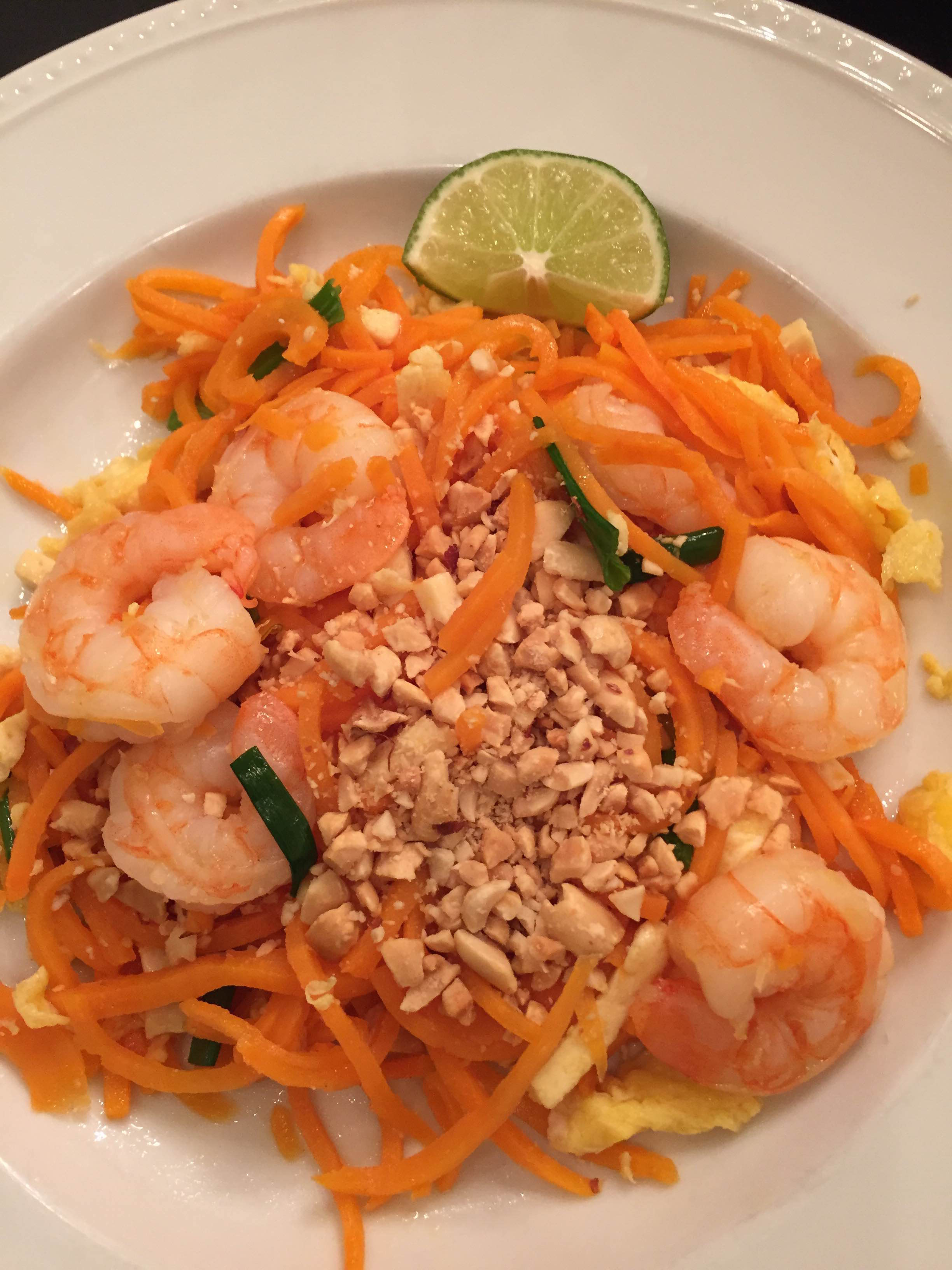 Takeout Pad Thai with Sweet Potato Noodles » Recipe Mashups
