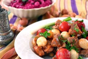 Lamb Saute with Shallots