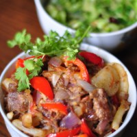 Beef And Potato Stir Fry