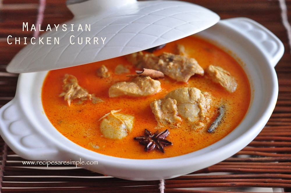 Malaysian Chicken CurryDelicious Nyonya Chicken Curry