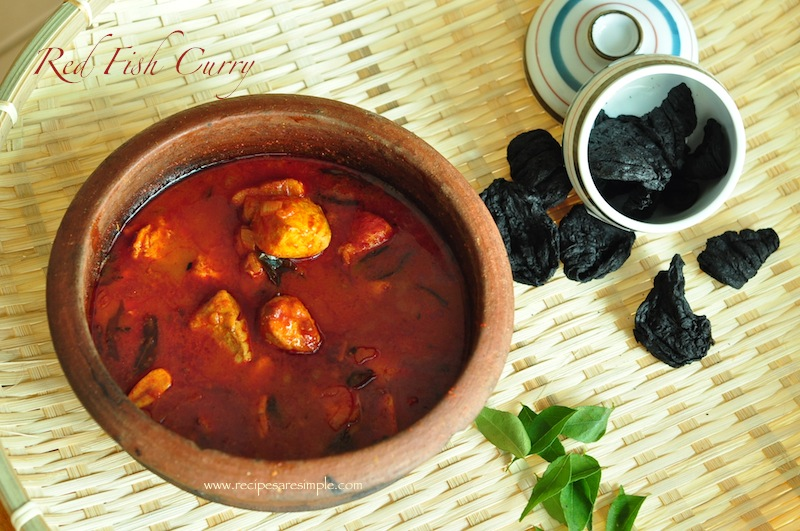 Red Fish Curry - Meen Mulakittathu