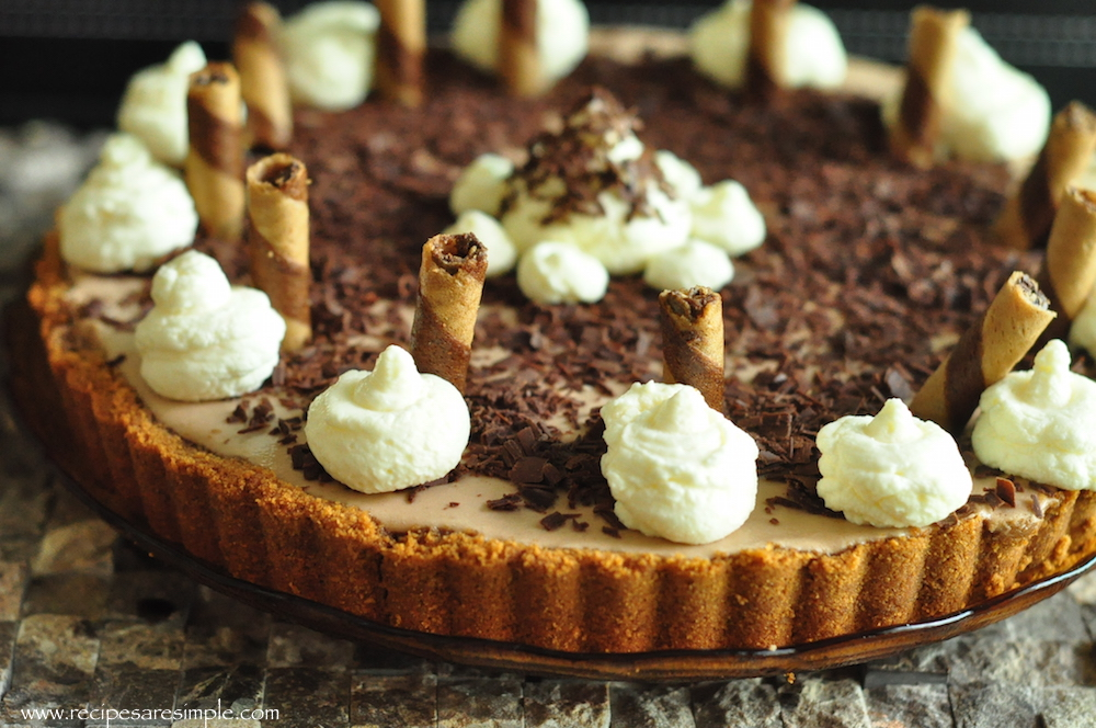 Chocolate Chiffon Pie - Silky and Light Mousse Pie