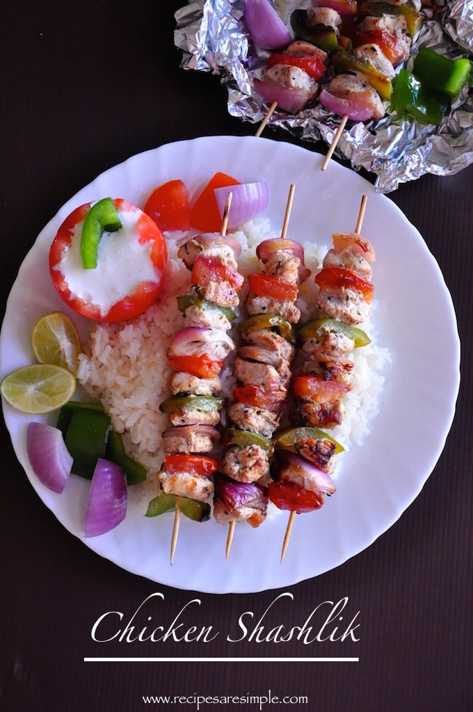 chicken shashlik recipe