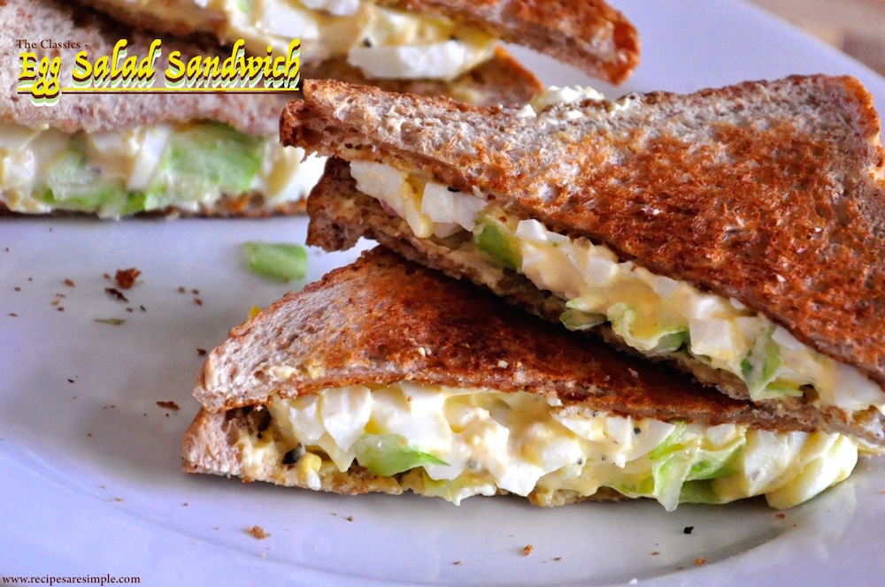 Egg Salad Sandwich - Easy Fixes - Recipes R Simple