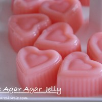 simple agar agar jelly