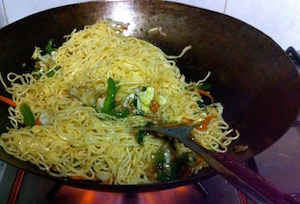 vegetable chow mein - 16