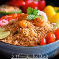 Shrimp Kabsa