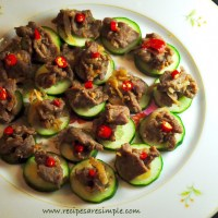 thai beef and cucumber canapes recipes