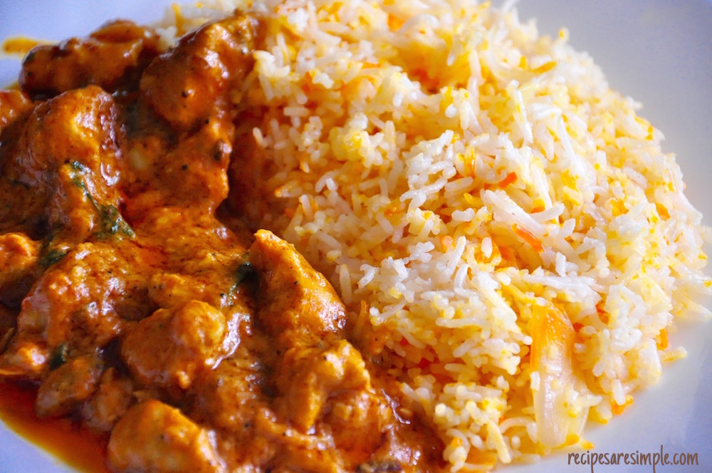 butter chicken biryani recipe
