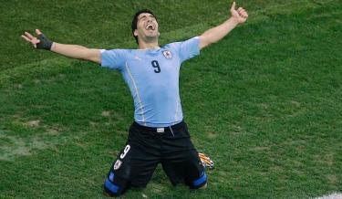 england,england almost out,fifa world cup 2014,fifa2014,gerrard,luis suarez,luis suarez magic,rooney,roy hodgson,uruguay,ouch,nation celebrates,england lose,uruguay win