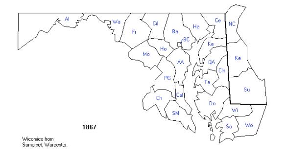 Maryland 1867