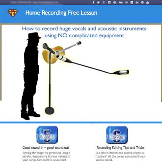 home recording lesson 1