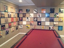 Gamesroom with Vinyl Records