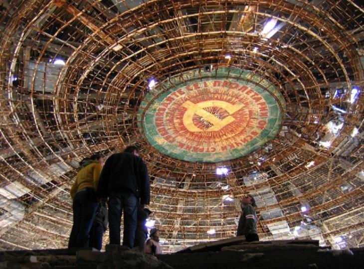 Dach domu Komunistycznej Partii Bułgarii