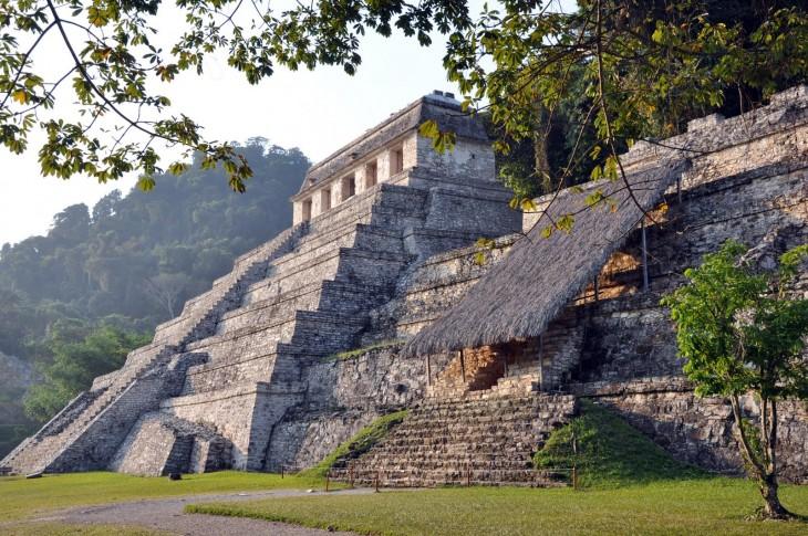 Miasto Majów w Palenque Chiapas, Meksyk