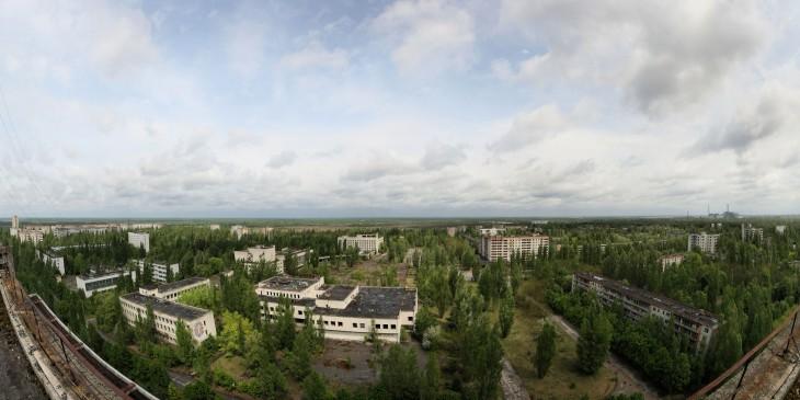 Prypeć Katastrofa w Czarnobylu Ukraina
