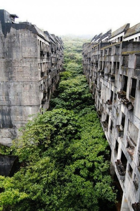 niezamieszkana wieś Keelung na Tajwanie
