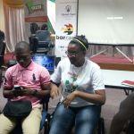 Harriet Delali Deku at BarCamp Takoradi