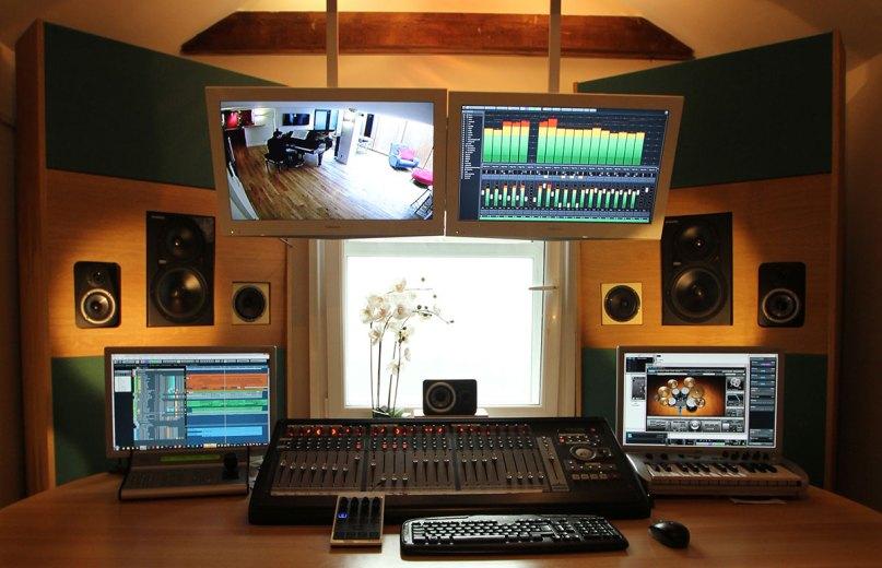 Mastering Control Room at RedBox Recording Studios Belfast