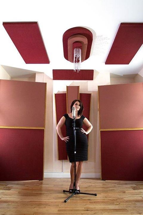 Oonagh Derby at RedBox Recording Studios