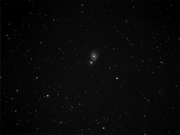 M 51 in a small telescope