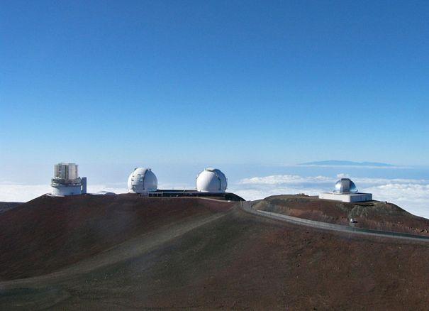 Mauna Kea obervatories