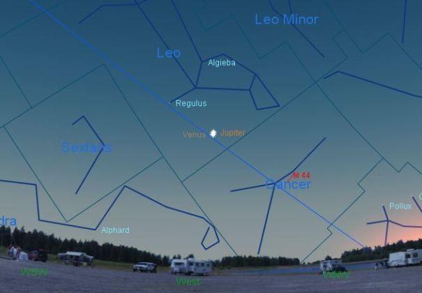 Venus Jupiter Conjunction 1