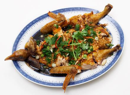 Crispy Chicken in Garlic Sauce