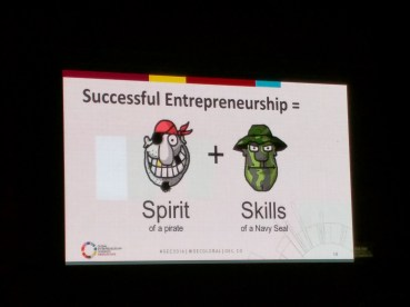 The spirit an skills of an entrepreneur Global Entrepreneurship Congress Medellin 2016