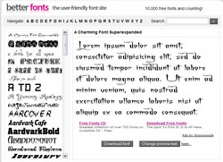 betterfonts small Better fonts   10,000 and counting