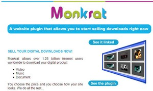 monkrat small Monkrat   the digital download shopping cart