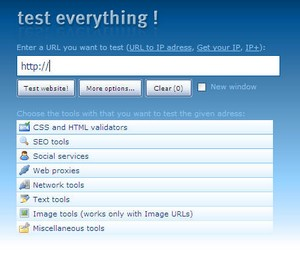 testeverything small Test Everything   the ultimate webmaster tool kit?