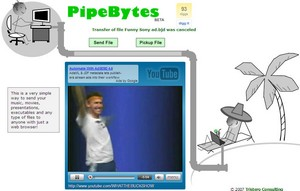 pipebytes2 small PipeBytes   innovative file transfer service is fast, private and entertaining