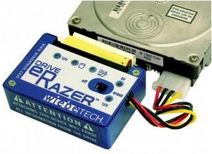 driveerazer small Drive eRazer   wipe that disk cleaner than a camels bottom at bedtime