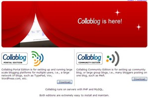 collablog small Collablog   start your own blogging community for free
