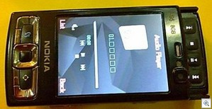 blackn95clone thumb Black Nokia N95 8GB clone   anything we can do, they can do better...