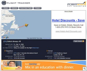 flighttracker thumb Flight Stats   awesome travellers tool helps improve your journey experience in every way