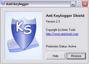 antikeyloggershield small Anti Keylogger Shield   protect your computer against keyloggers