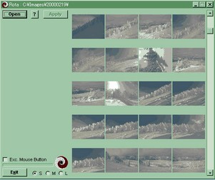 rota small Rota   freeware lets you rotate your photographs with no loss of image quality
