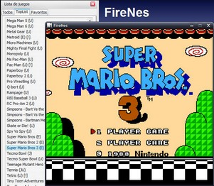 firenes small FireNes   Firefox extension lets you play Nintendo games via your browser