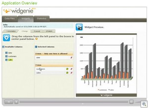 widgenie2 thumb Widgenie   smart, gorgeous data visualisation tool comes online